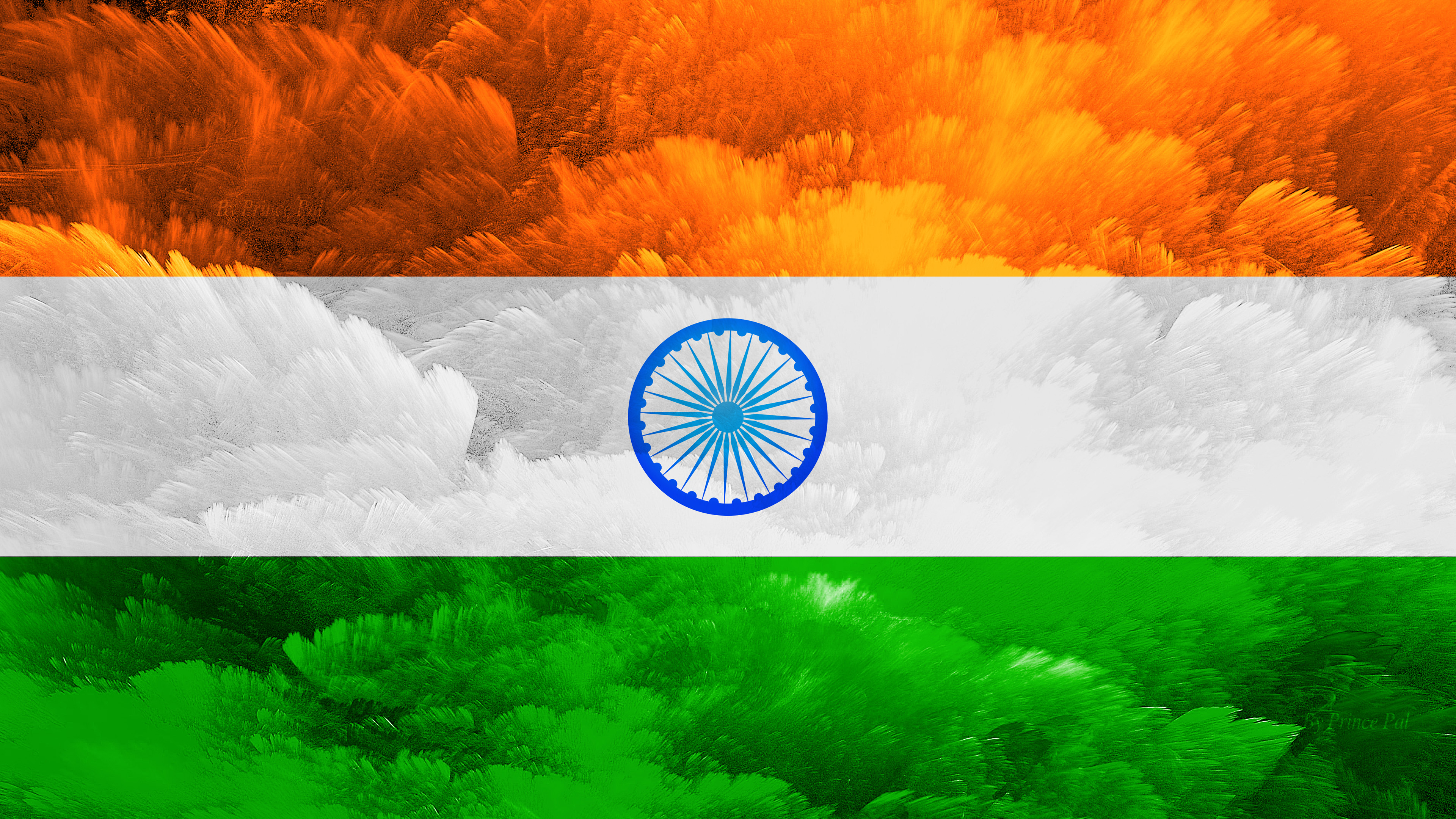 4k Wallpaper Of Indian Flag For Independence Day And