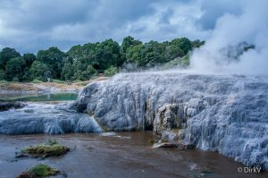 Beautiful Nature Wallpapers with Pohutu Geyser Rotorua New Zealand