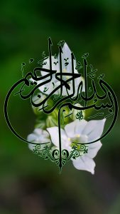 Islamic Wallpaper for Mobile with Brodiaea Flowers as Nature Background