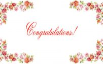 congratulations images free download with floral borders