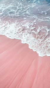 Beach Wallpapers for iPhone 04 of 20 - Pinky Beach Sands