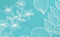 10 Blue Wallpapers That Will Look Perfect on Your Nokia 8.3 5G - #07 - Tropical Floral Pattern