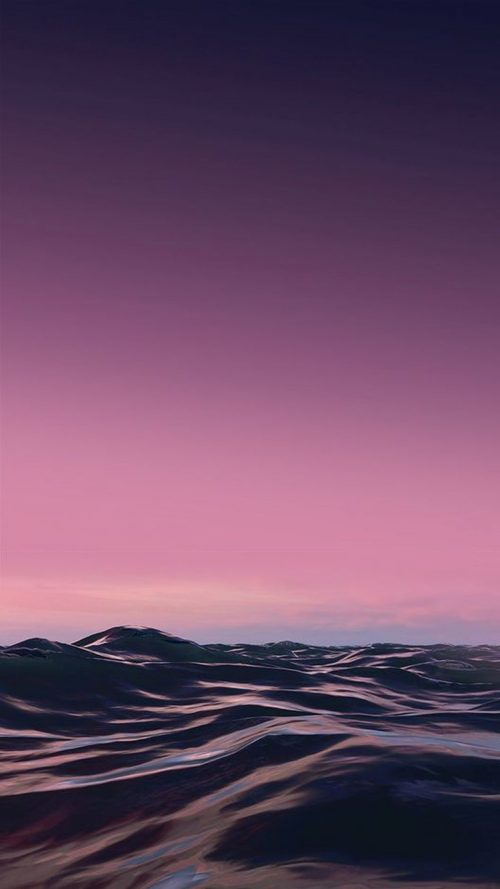 Beach Wallpapers for iPhone 06 of 20 – Calm Waves Picture for iPhone SE