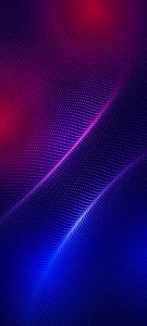 10 Best Artistic Pinterest Pins for Your Samsung A Quantum - #06 – Red White Dots Matrix on Blue Background
