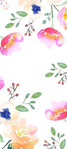 10 Best Artistic Pinterest Pins for Your Samsung A Quantum - #09 - Floral Pattern Art Painting