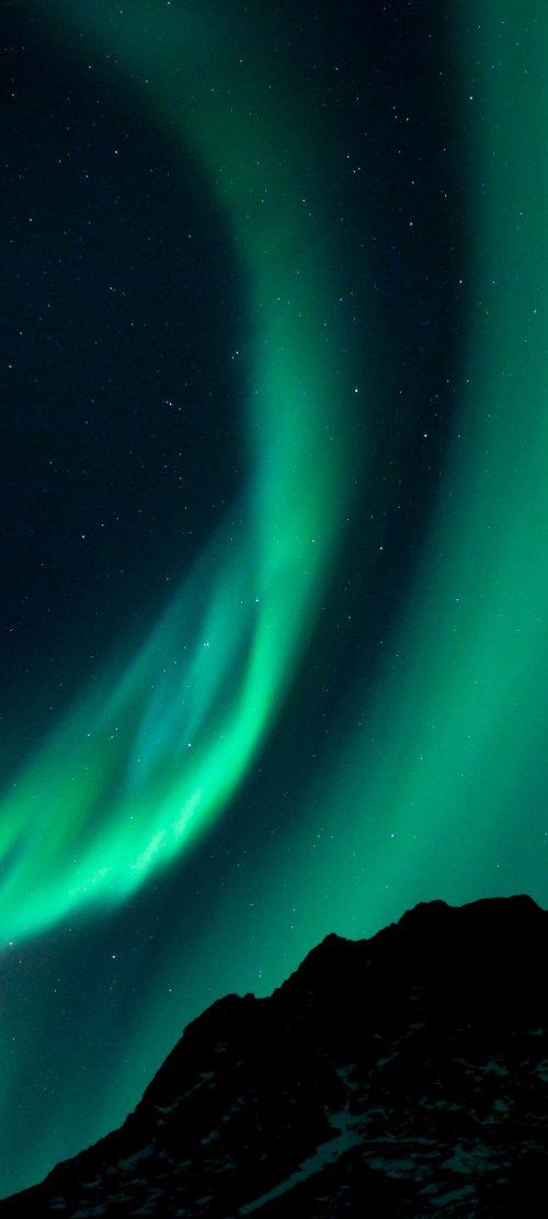 Oppo Reno4 Pro 5G Nature Wallpaper 02 0f 10 - Aurora Borealis - Northern Lights