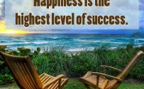 20 Best Friday Thoughts and Short Inspiring Quotes 02 - Happiness is the highest level of success