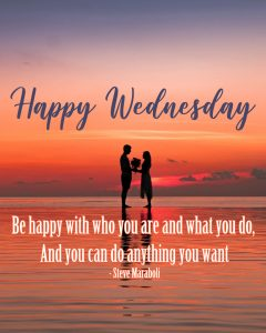 20 Best Wednesday Thought Quotes Wallpapers 03 - Be happy with who you are