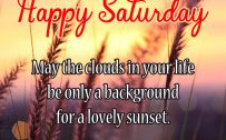 20 Saturday Thought Quotes Wallpapers 03 - May the clouds in your life