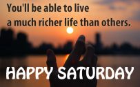 20 Saturday Thought Quotes Wallpapers 04 - If you can see the positive sides of everything