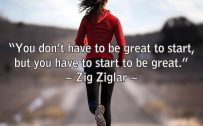 20 Best Short Monday Thoughts for Motivation 04 - You don't have to be great to start