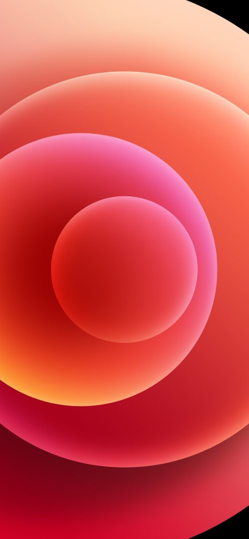 Apple iPhone 12 (Mini, Pro, Pro Max) Wallpaper 08 - Red Light