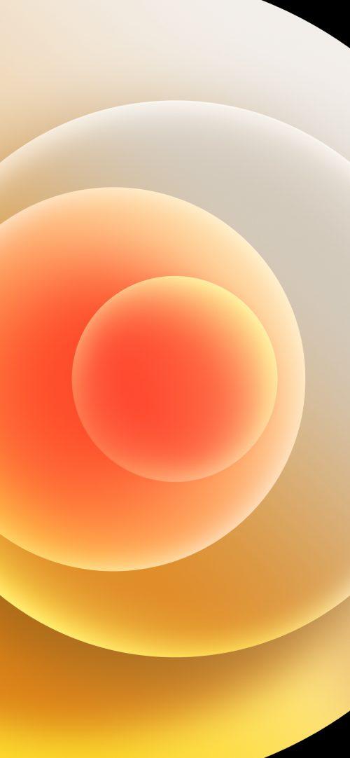 Apple iPhone 12 (Mini, Pro, Pro Max) Wallpaper 10 - White Light