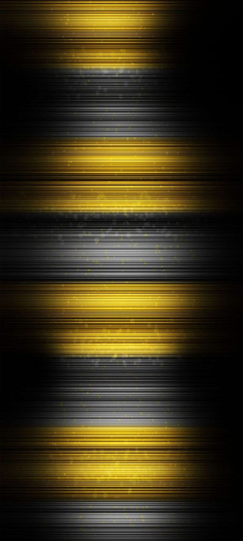 Perfect Alternative Wallpaper for Xiaomi Redmi Note 10 Pro with Black and Yellow Background