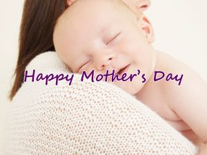 Happy Mother's Day Image with Picture of Smiling Baby and Mom