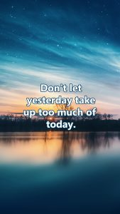 Galaxy Wallpaper for Smartphone Home Screen with Quote about Life