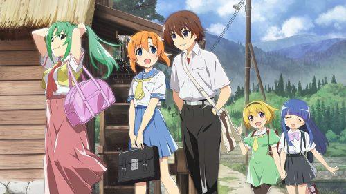 Higurashi no Naku Koro ni anime Wallpaper for Desktop Background