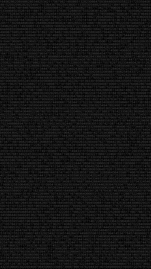 Dark Wallpaper for Smartphone with Digital Art Background