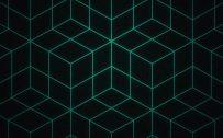 Dark 3D Pattern Wallpaper for Smartphone in HD 1080p Resolution