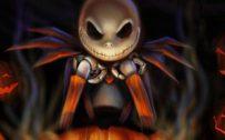 Happy Halloween Greeting Card Design for Smartphones