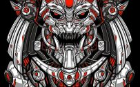 Cool and Badass Wallpapers for Smartphones 03 of 20 - Indian Mecha