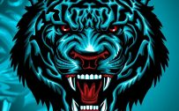 Cool and Badass Wallpapers for Smartphones 06 of 20 - Tiger Head